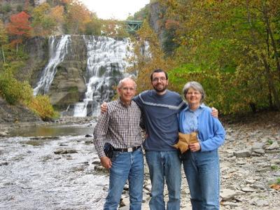 David and his Parents
