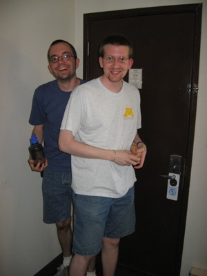 Jon and David